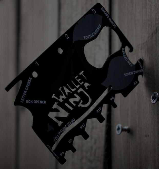 Инвентарь: Мультитул Wallet Ninja