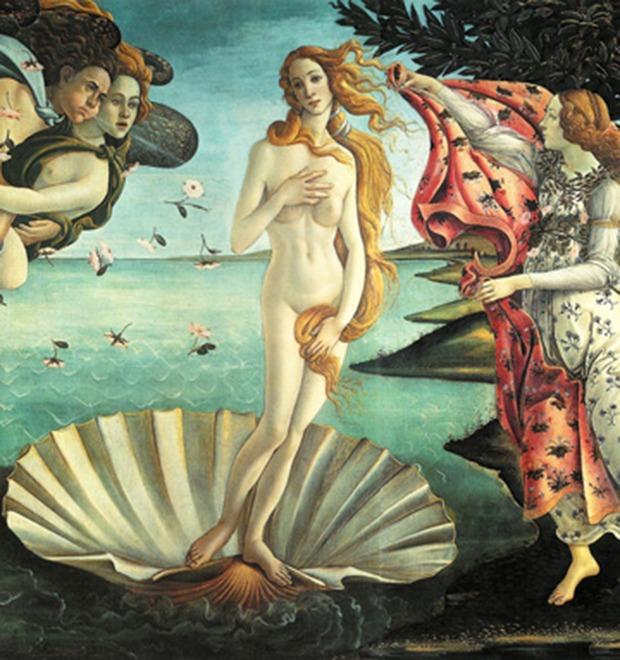 Венера как супермодель: Итальянка примеряет современные стандарты красоты на богиню любви — Культура на FURFUR