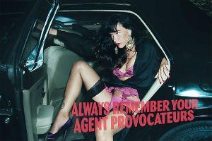 Актриса Пас де ла Уэрта снялась в рекламе нижнего белья Agent Provocateur — Культура на FURFUR