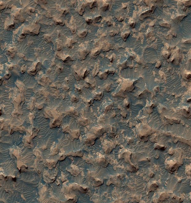 Новые фотографии поверхности Марса, опубликованные агентством NASA