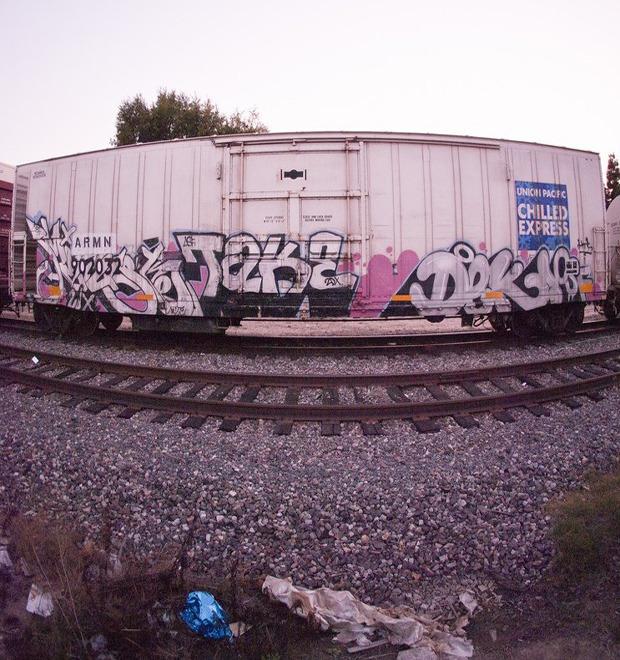 True 2 Death: Блог о разрисованных поездах из Южной Калифорнии — Культура на FURFUR