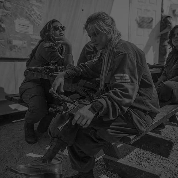 Фотопроект: Как служат женщины в армии Израиля — Культура на FURFUR