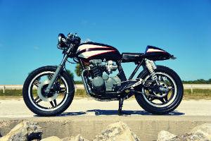 Мотоцикл Honda CB650 мастерской Steel Bent Customs — Культура на FURFUR