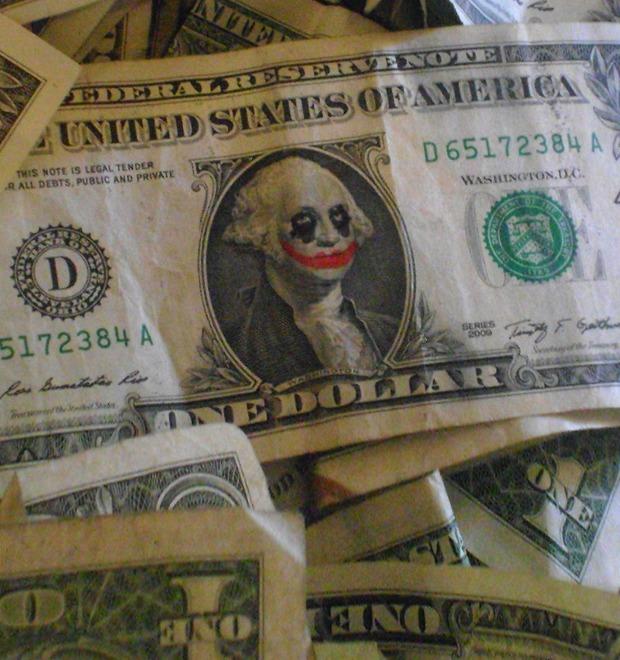 Искусство как федеральное преступление: Художники, которые рисуют на долларах