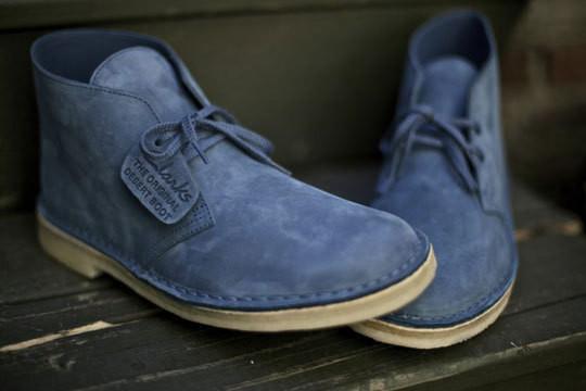 Обувная компания Clarks представила новую модель desert boots
