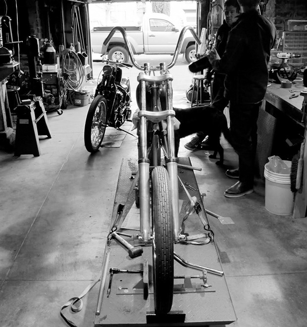 Что должно быть в гараже мотоциклиста — Культура на FURFUR