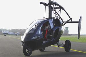 Голландская компания PAL-V провела испытания летающего автомобиля — Культура на FURFUR