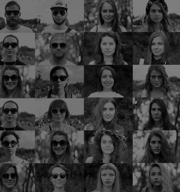 Лицевой счёт: Коллективный портрет посетителей фестиваля Outline