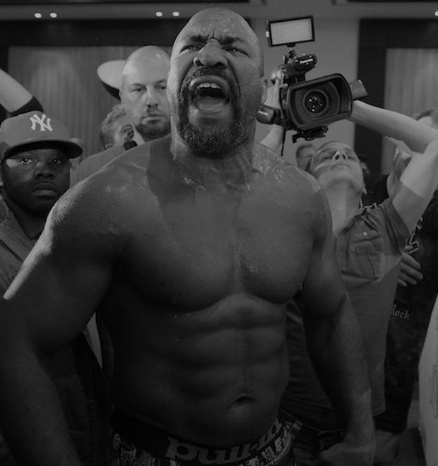 Как Шэннон Бриггс провоцирует Владимира Кличко вне ринга