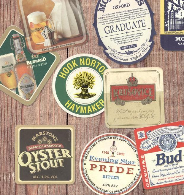 Коллекция бирдекелей: Избранные подставки под пиво дизайнера Никиты Трепцова