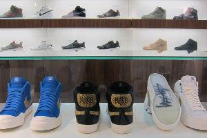 Выставка Stussy в музее кроссовок