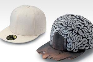 Новые кепки New Era, переделанные молодыми дизайнерами — Культура на FURFUR