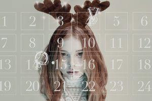 Серия рождественских видеороликов с моделями журнала LOVE