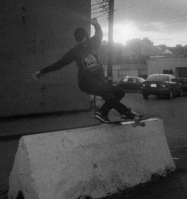 BA.KU.: Фотопроект о загадочной субкультуре канадских скейтеров-металлистов