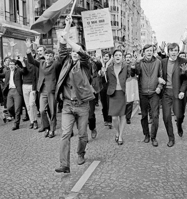 «Твое счастье купили. Укради его!»: Плакаты с лозунгами «Красного мая» 1968-го — Культура на FURFUR