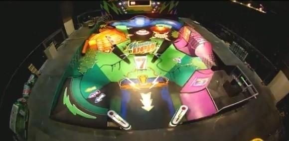 Скейтпарк в виде аппарата для игры в пинбол — Культура на FURFUR