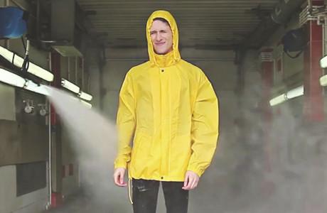 Дожди-пистолеты: Испытание дождевиков на автомойке
