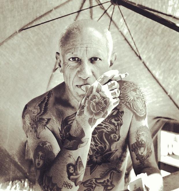 Shopped Tattoos: Фотограф из США «забивает» татуировками идолов поп-культуры — Культура на FURFUR