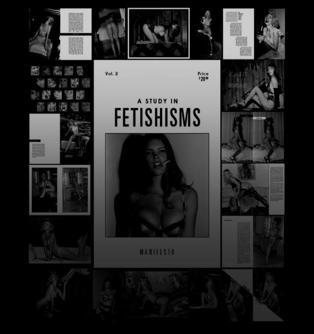 Лолиты, пин-ап и силиконовая грудь: О чём читать в новом Fetishisms Manifesto
