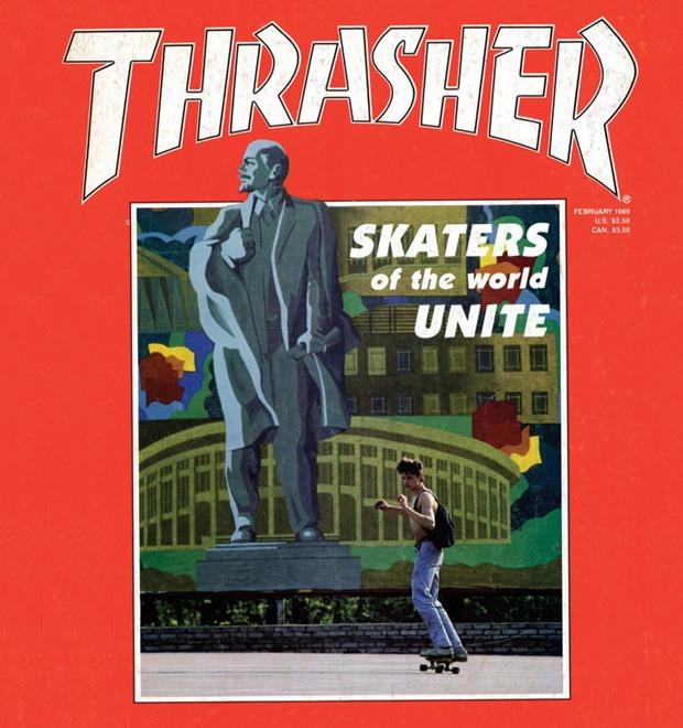 Репортаж американского журнала Thrasher о советских скейтерах