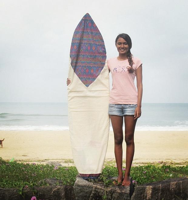 Индийские серферы в Instagram