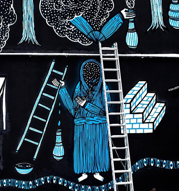 «Мои работы — о рефлексии над миром и смертью»: Интервью с немецким художником Superblast — Герои на FURFUR
