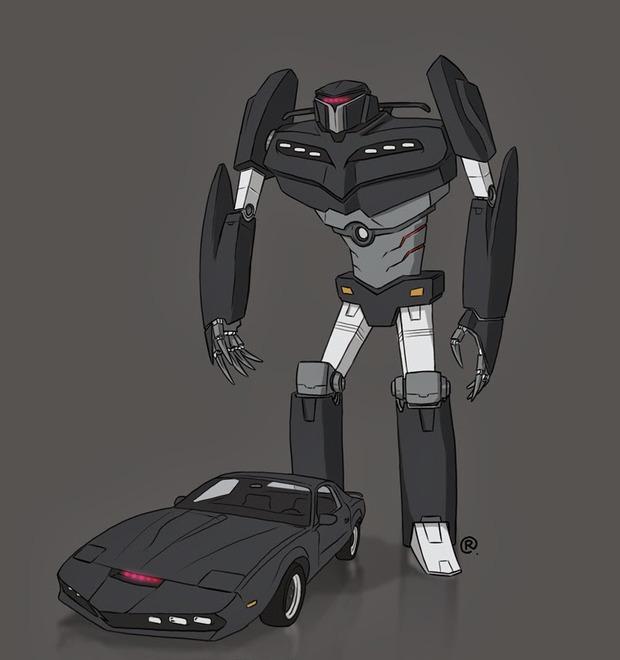 Даррен Роулингс: Если бы машины из культовых фильмов были трансформерами