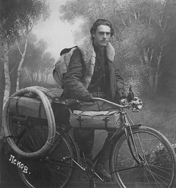 Глеб Травин: 85 000 км на велосипеде вдоль границ Советского Союза