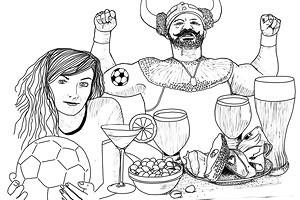 Пять шагов, как приучить девушку смотреть футбол