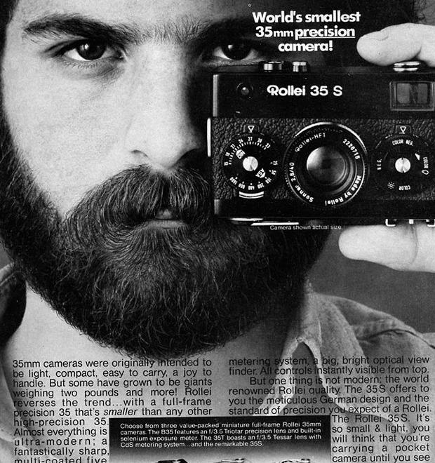 Находка недели: Компактная фотокамера Rollei 35 — Культура на FURFUR