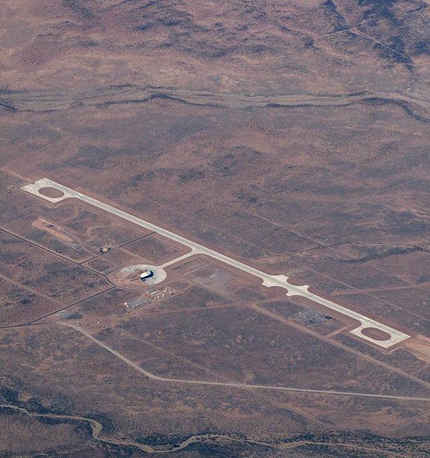 Космическая одиссея: Фотографии первого в мире частного космопорта