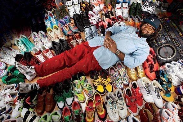 Колтрейн Кертис продает свою коллекцию из 1200 пар кроссовок — Культура на FURFUR