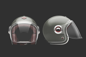 Коллекция мотоциклетных шлемов марки Les Ateliers Ruby