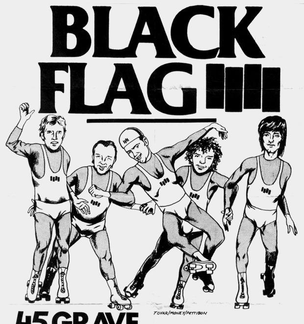 Как логотип Black Flag стал символом панк-культуры