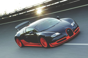 Дизайнеры Bugatti создали уникальную модель Veyron Super Sport ко дню рождения своего поклонника