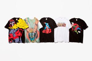 Новая коллекция футболок с персонажами Marvel Comics