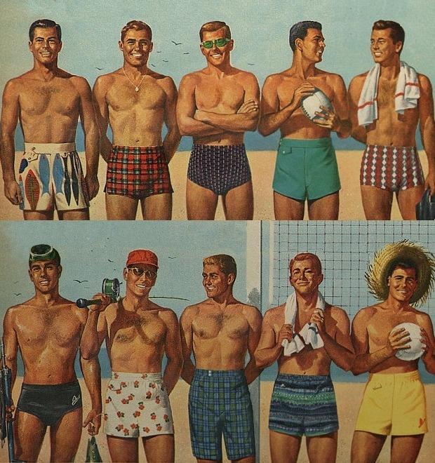 Как выбрать плавки и пляжные шорты