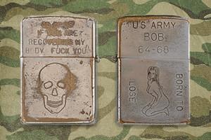 Фотографии коллекции зажигалок Zippo времен войны во Вьетнаме — Культура на FURFUR