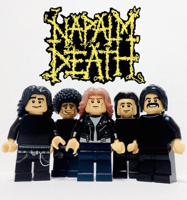 Lego-go: Культовые группы в виде фигурок из конструктора LEGO