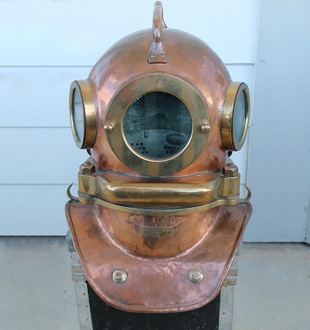Находка недели: Винтажный водолазный шлем