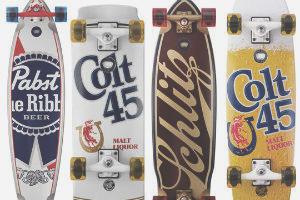 Коллекция лонгбордов с принтами пива Pabst — Культура на FURFUR