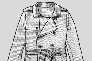 Внимание к деталям: Зачем нужна накладка на правом плече тренча — Культура на FURFUR