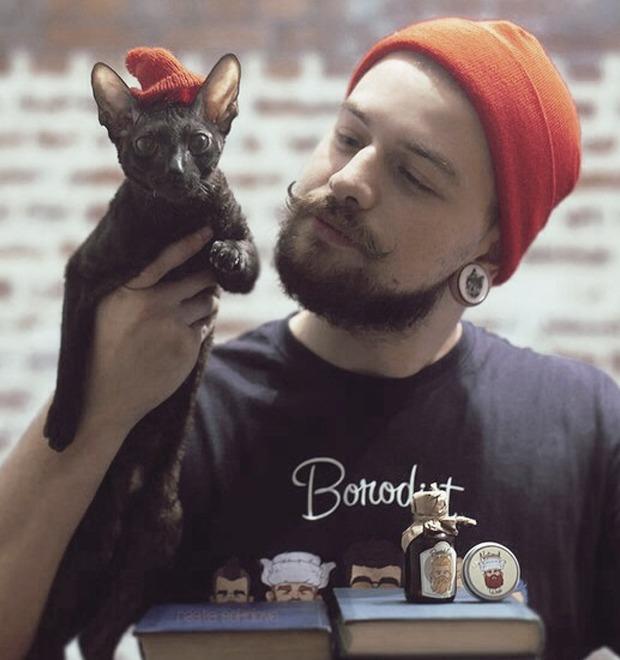 Новая марка: Средства для укладки бороды и усов «Бородист» — Культура на FURFUR