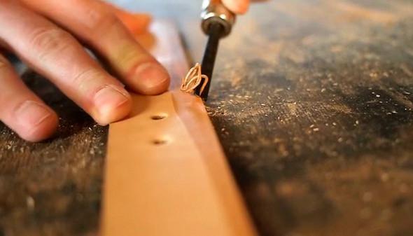 Как создаются кожаные ремни