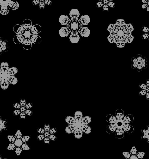 Снежный человек: «Герои года» в форме новогодних снежинок — Культура на FURFUR