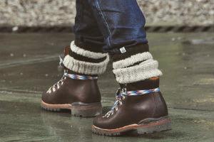 Хайкеры, высокие броги и другие зимние ботинки в интернет-магазинах