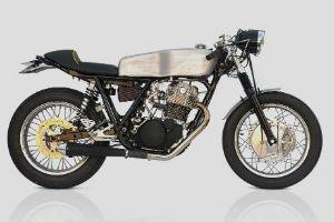 Мотоцикл Yamaha SR500 «The Venice» мастерской DEUS — Культура на FURFUR