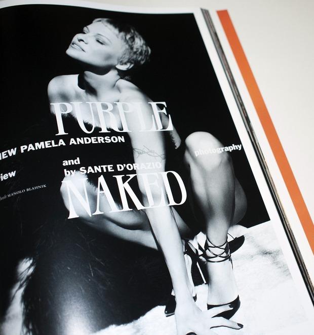 Памела Андерсон сфотографировалась обнажённой для нового номера французского журнала Purple — Культура на FURFUR