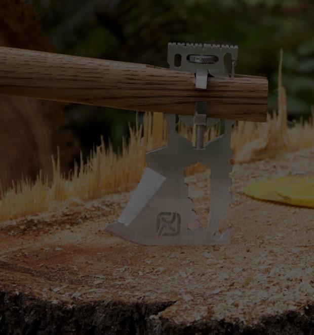 Инвентарь: Мультитул Klax Lumberjack