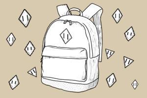 Внимание к деталям: Откуда взялся кожаный «пятак» на рюкзаках — Культура на FURFUR